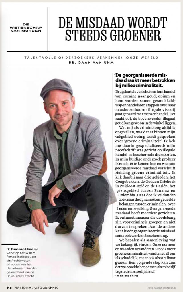 Myrthe Prins freelance wetenschapsjournalist national geographic magazine