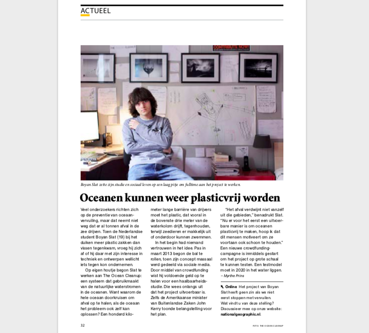 myrthe prins freelance journalist interview boyan slat